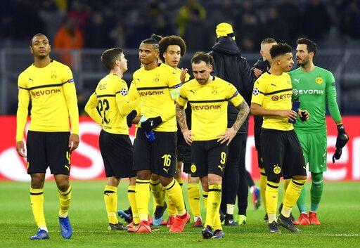 For Borussia Dortmund It S The Bundesliga Or Bust