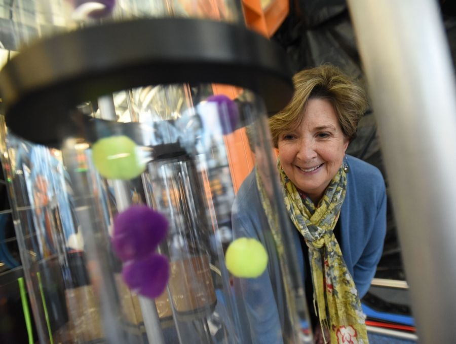 Sarah Orleans, President and CEO of the DuPage Children's Museum, came to the facility from Oregon in 2014 and is planning to leave late this year after helping the organization transition to new leadership.