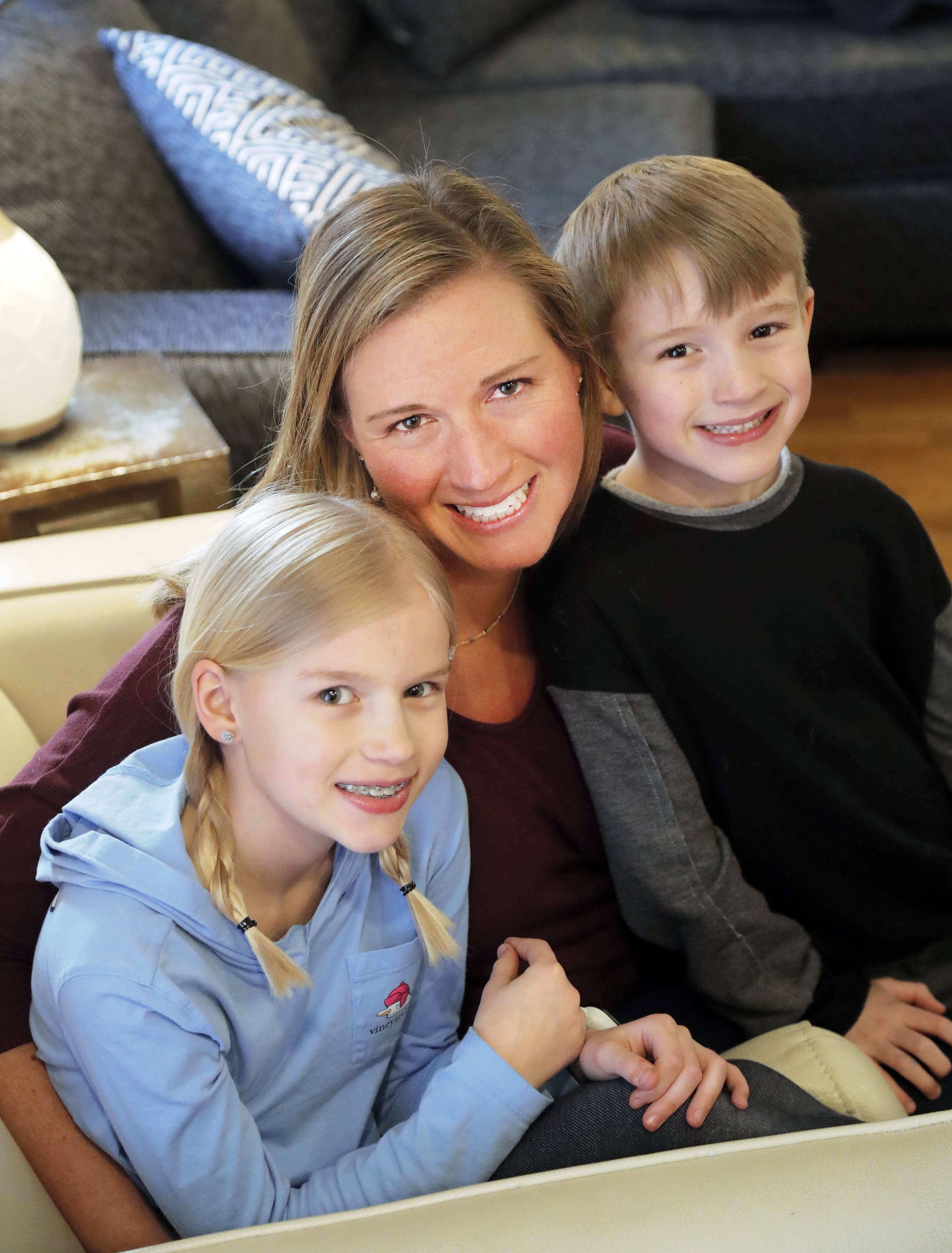 Widowed with two young children, Julia and Beau, Lisa Lindell of Libertyville says Willow House, a charity that helps with grief, gives her family the support and tools it needs.