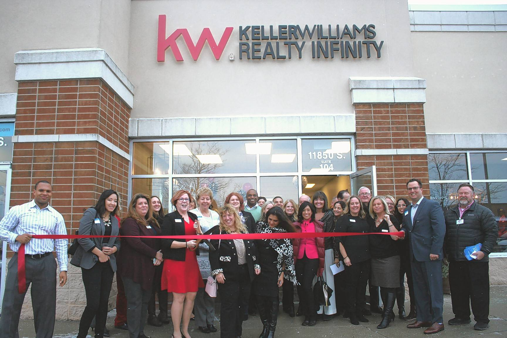 The Oswego & Plainfield Area chambers of commerce recently had a joint ribbon cutting for the new Keller Williams Infinity Office, 11850 S. Route 59, Plainfield, managed by Jeannie LaMarre.