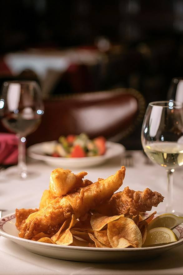 Gene & Georgetti Rosemont recently added Friday Lent specials to its menu, including fish and chips.