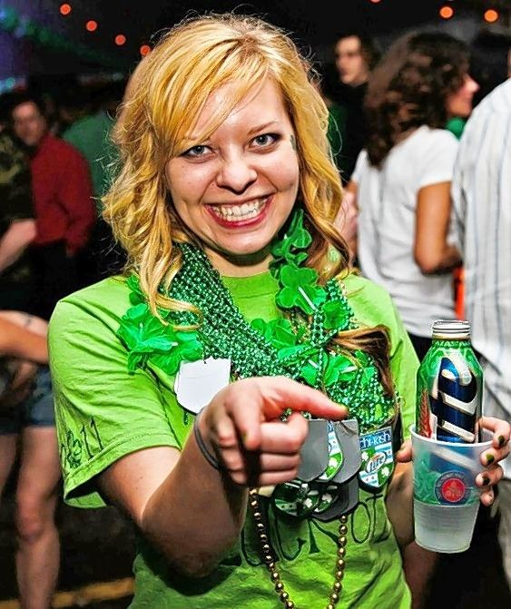Get decked out green for Finn McCool's St. Patrick's Day parties.