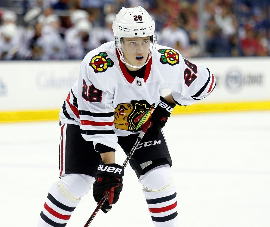 The Blackhawks decided defenseman Henri Jokiharju needed to play more, so they assigned him to the Rockford IceHogs in late January.