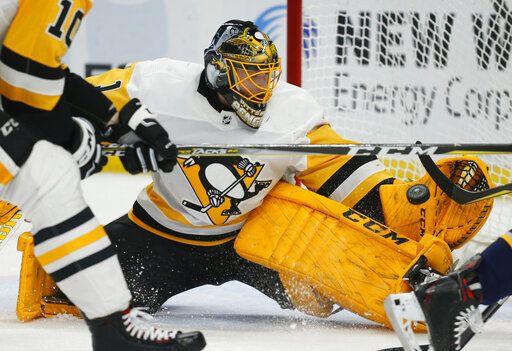 64805d2f Kessel, Crosby help surging Penguins blank Sabres 5-0