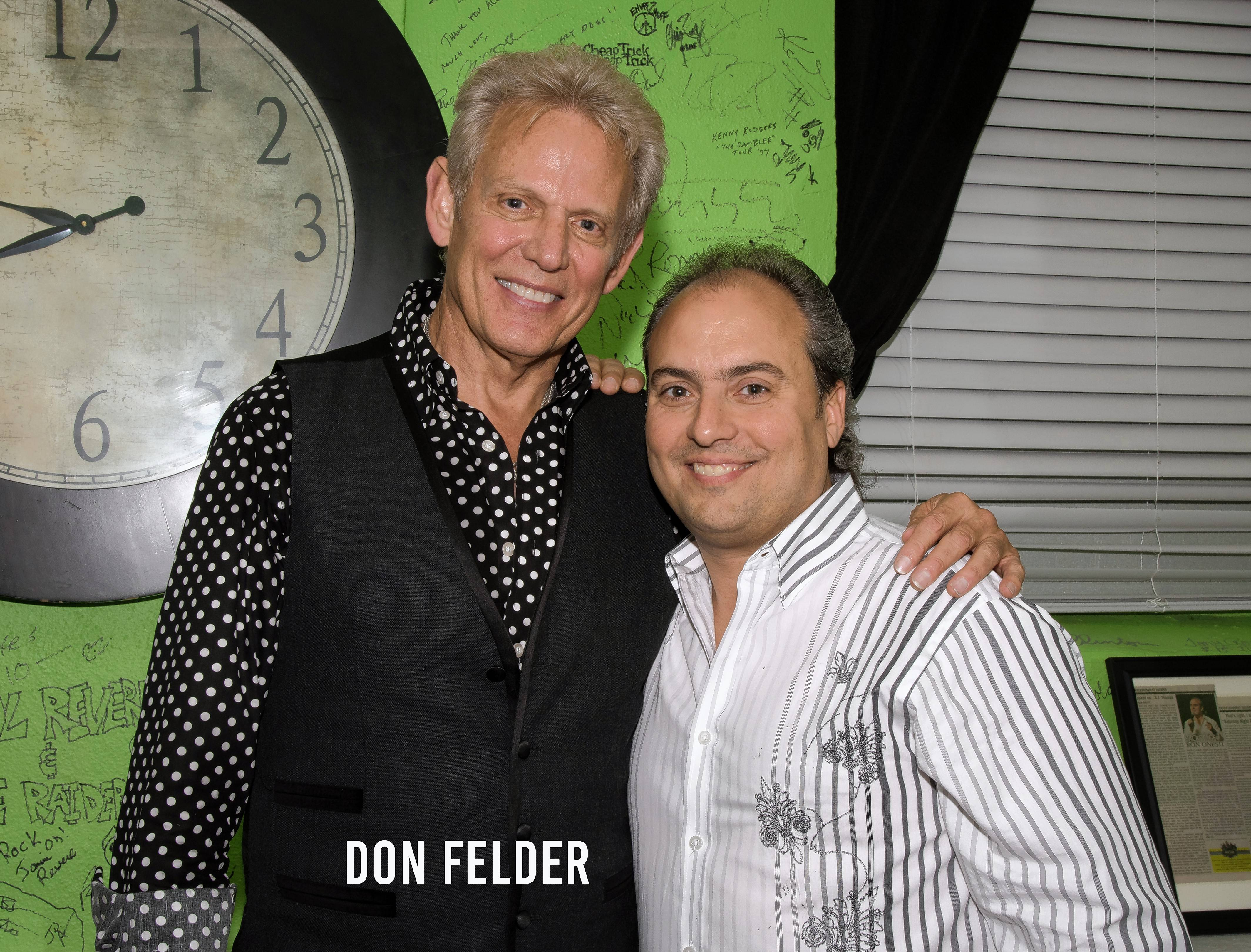 Don Felder, who returns to Ron Onesti's Arcada Theatre March 29, was a relatively unknown musician before hitting it big with the Eagles.
