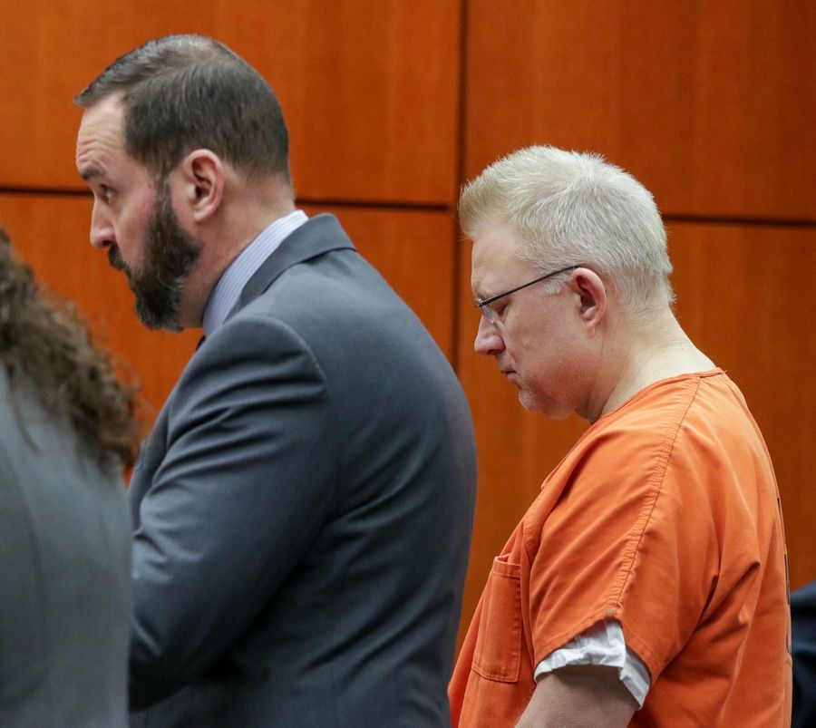 Joseph Kucharski's attorney, Jay Fuller, entered pleas of not guilty Friday in DuPage to nine counts of aggravated DUI and two counts of reckless homicide in the death of 17-year-old Beth Dunlap.