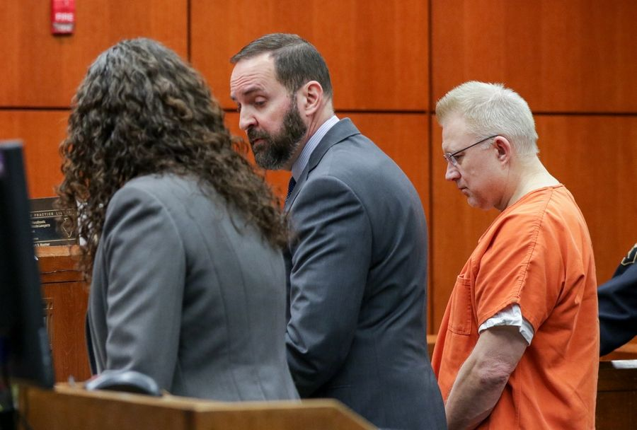 Joseph Kucharski, accused of being under the influence of drugs when his car struck and killed a 17-year-old Downers Grove North junior, pleaded not guilty Friday to nine counts of aggravated DUI and two counts of reckless homicide.