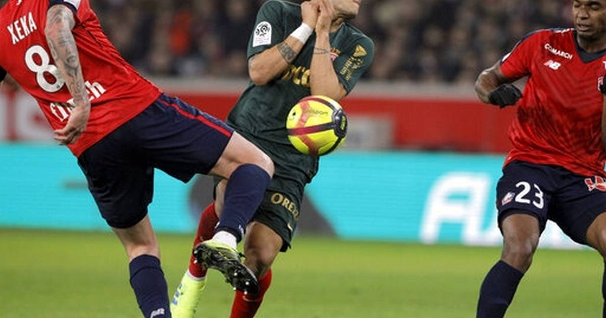 d85c244811f Monaco slows down Lille s Champions League bid with 1-0 win