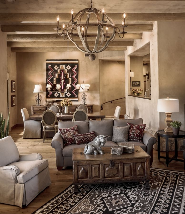 Home Decor Designers: Warm And Casual Southwest Style Is Hot In Decor