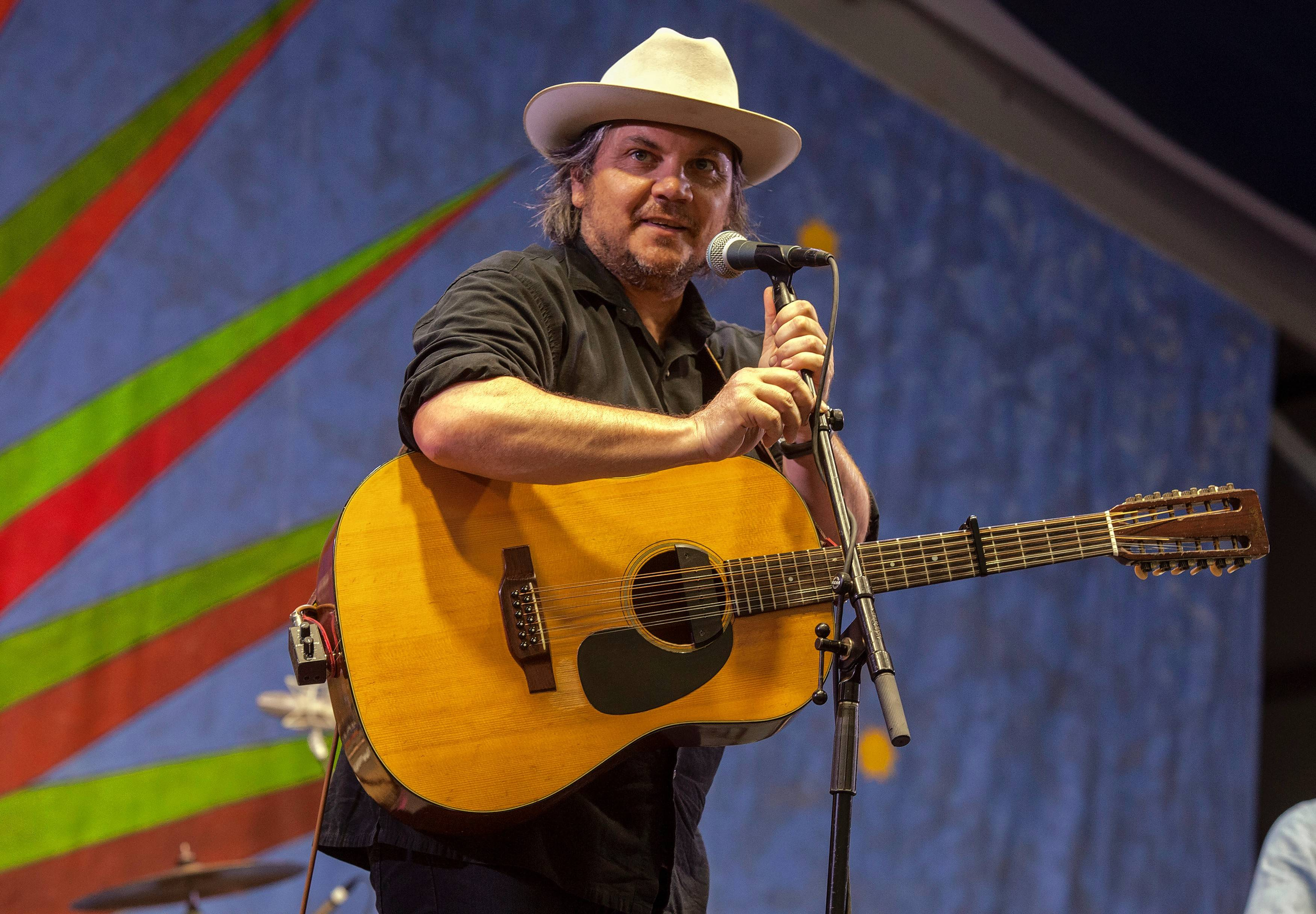 Jeff Tweedy plays his annual two-night benefit shows for education at the Vic Theatre Friday and Saturday, March 22-23.
