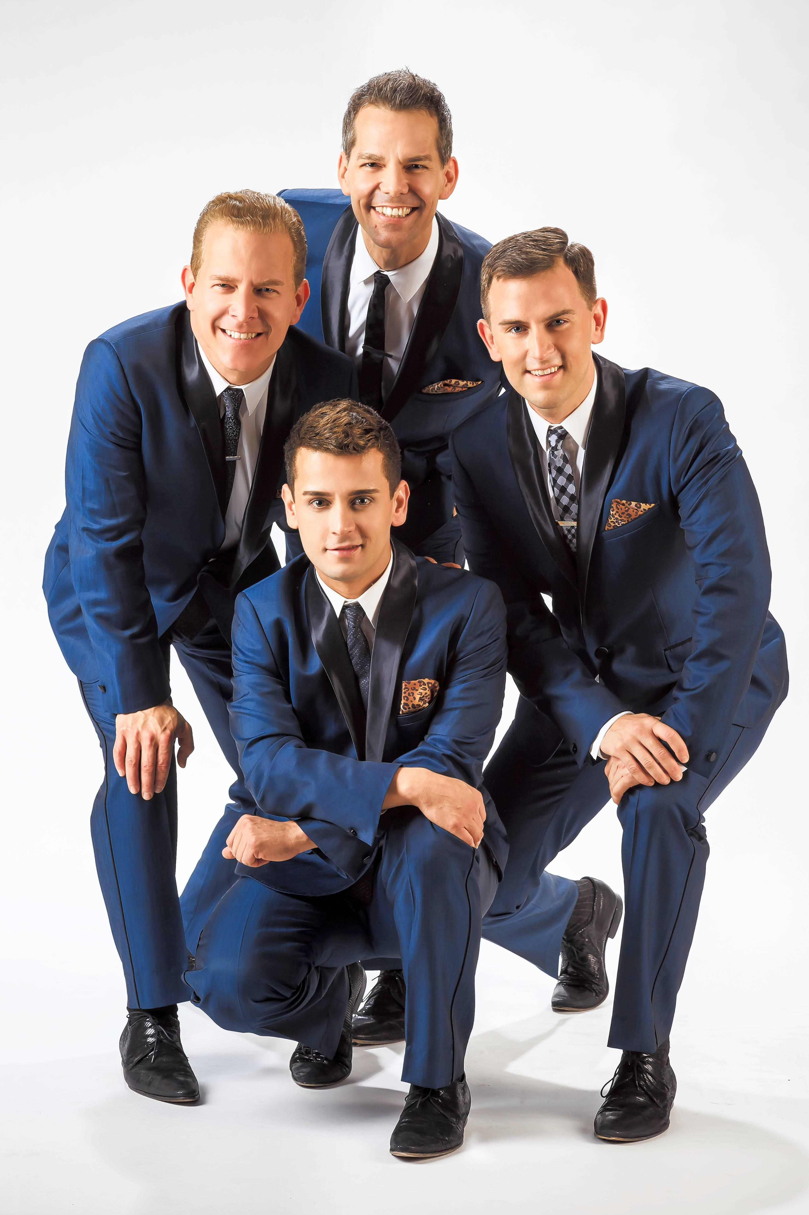 The Midtown Men return to the Paramount Theatre in Aurora on Saturday, March 23.