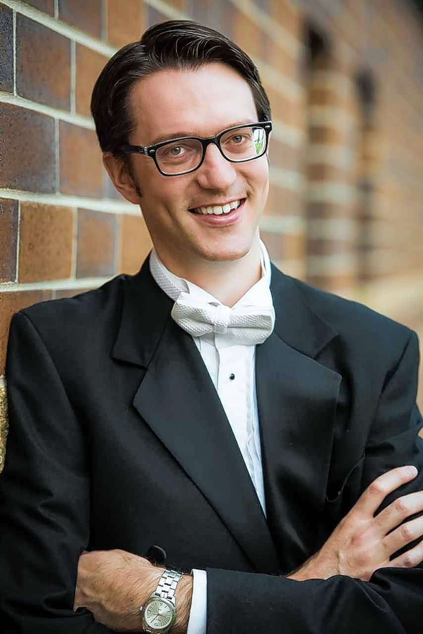 Batavia High School graduate Andrew Bruhn is a successful choral director, composer, trumpeter and teacher.