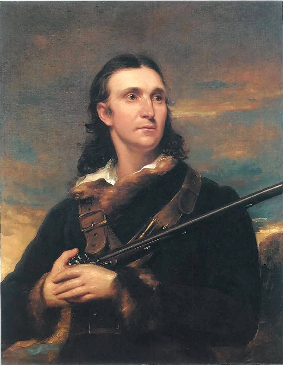 An 1826 portrait of John James Audubon, completed by John Syme, hangs in the White House.