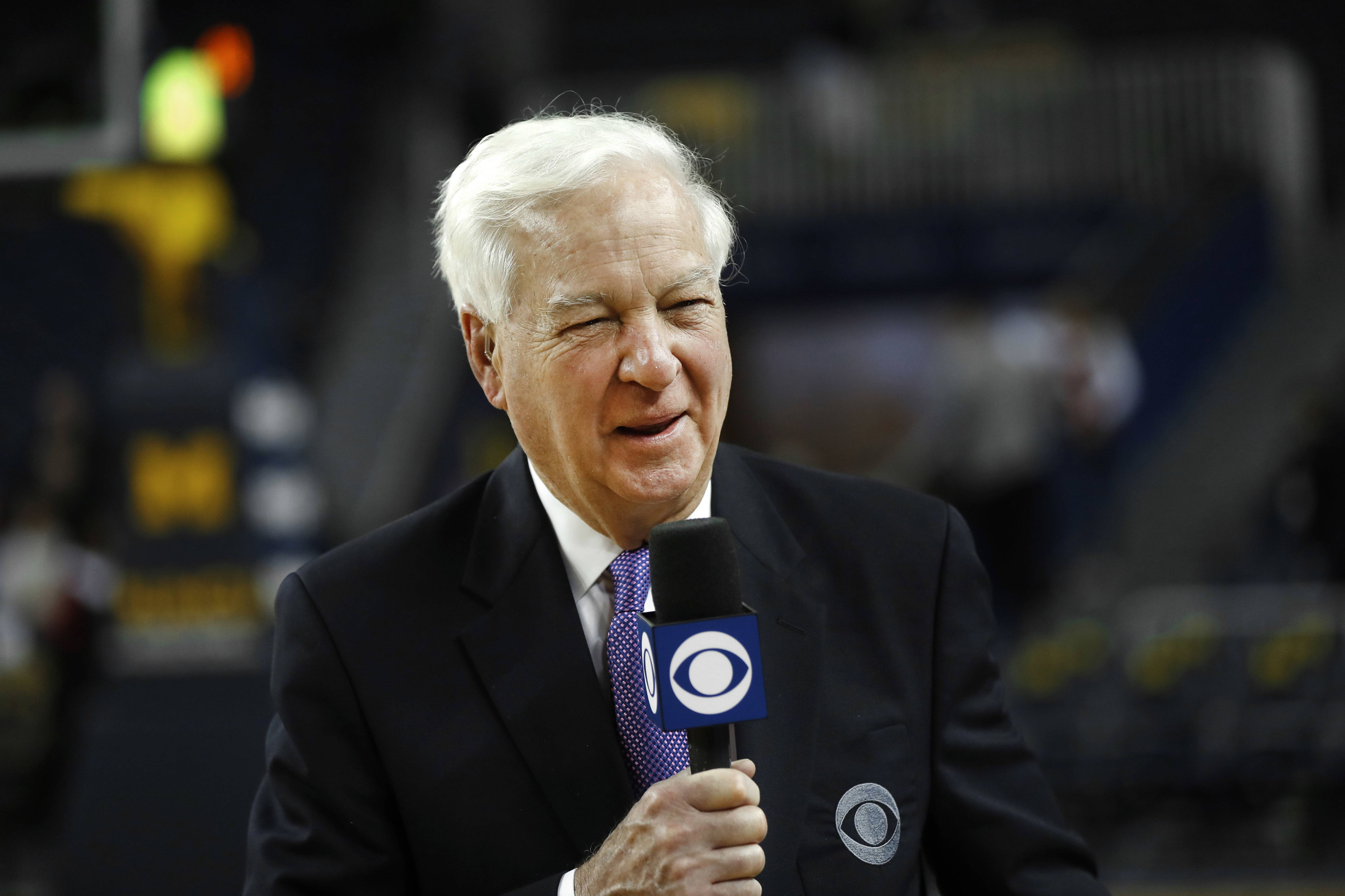 Bill Raftery, CBS college basketball analyst, will be front and center for all the big games during the NCAA tournament.