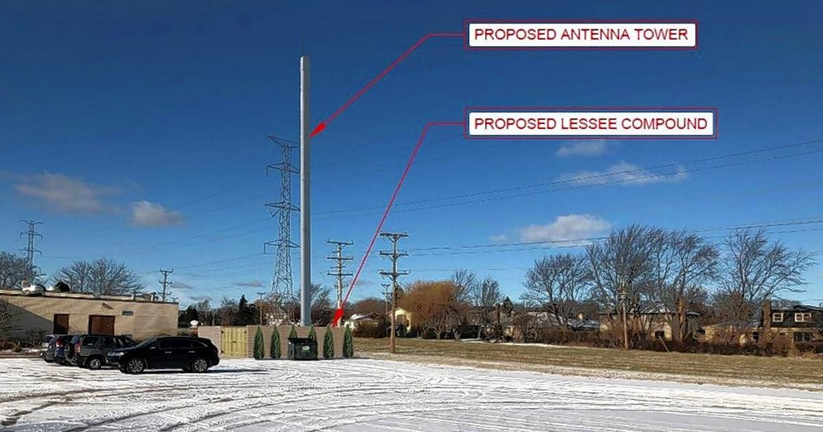 Cell tower planned at Arlington Heights church property