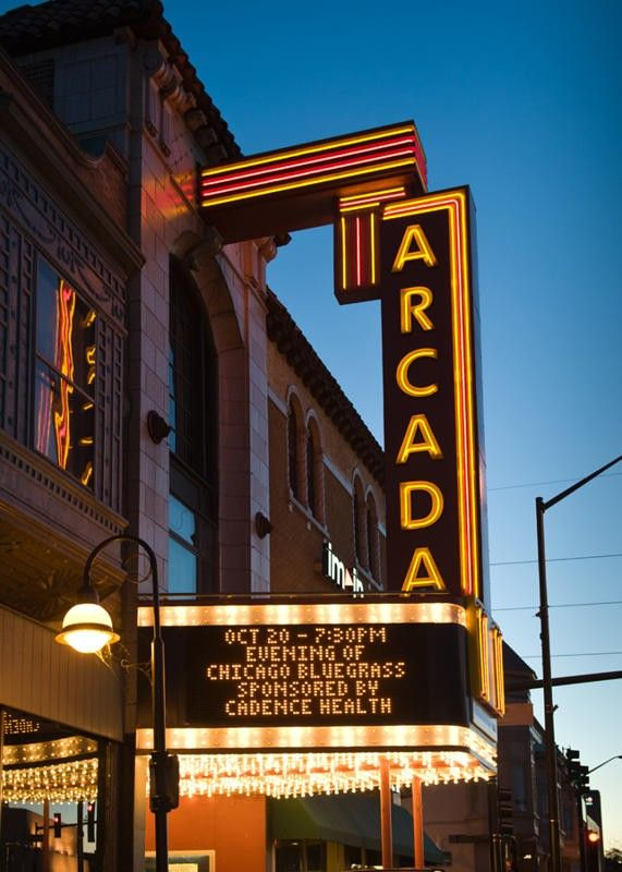 The Arcada Theater in St. Charles reopened Friday after safety repairs were made, but city inspectors will be back on Monday to go over more work that needs to be done.