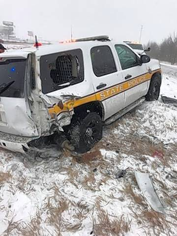 It's been a dangerous year for Illinois State Police troopers, whose patrol cars already have been hit on 14 occasions while stopped with their emergency lights flashing.