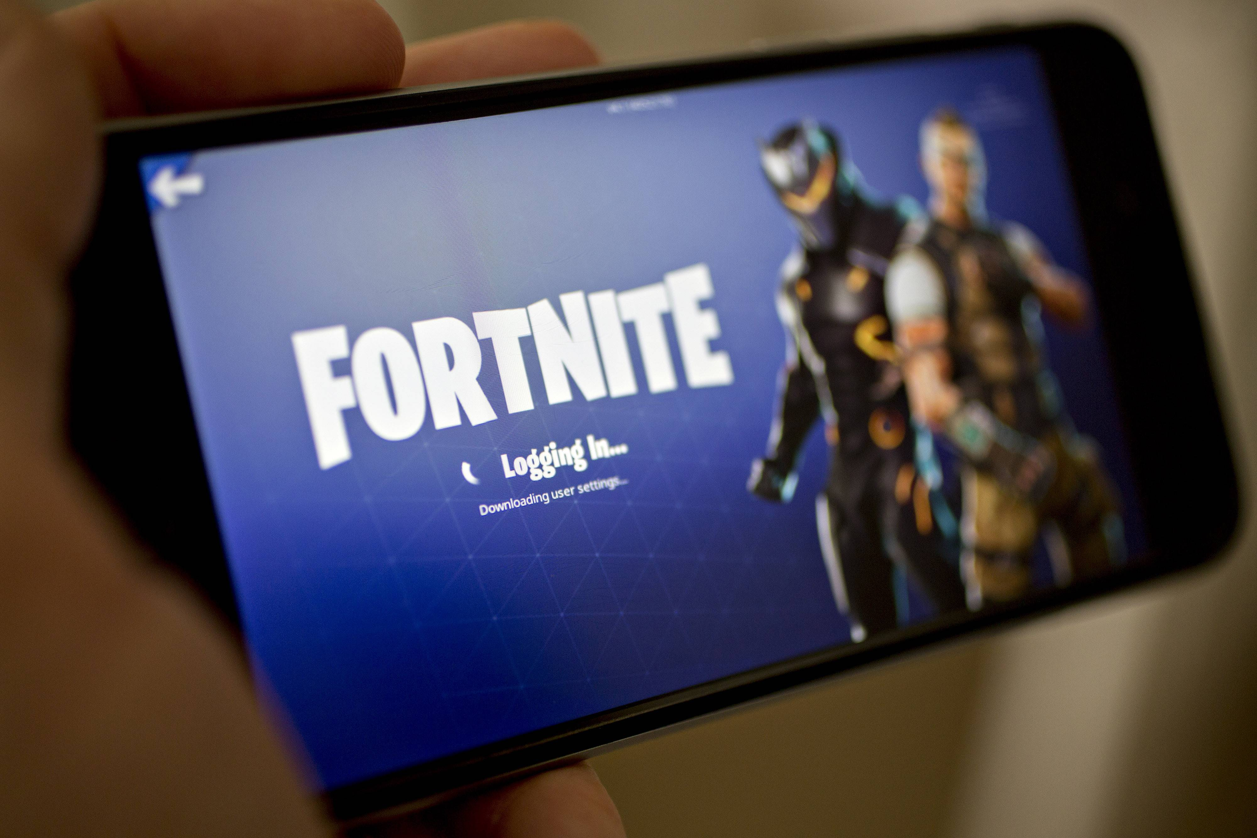 Fortnite's Battle Royale video game.