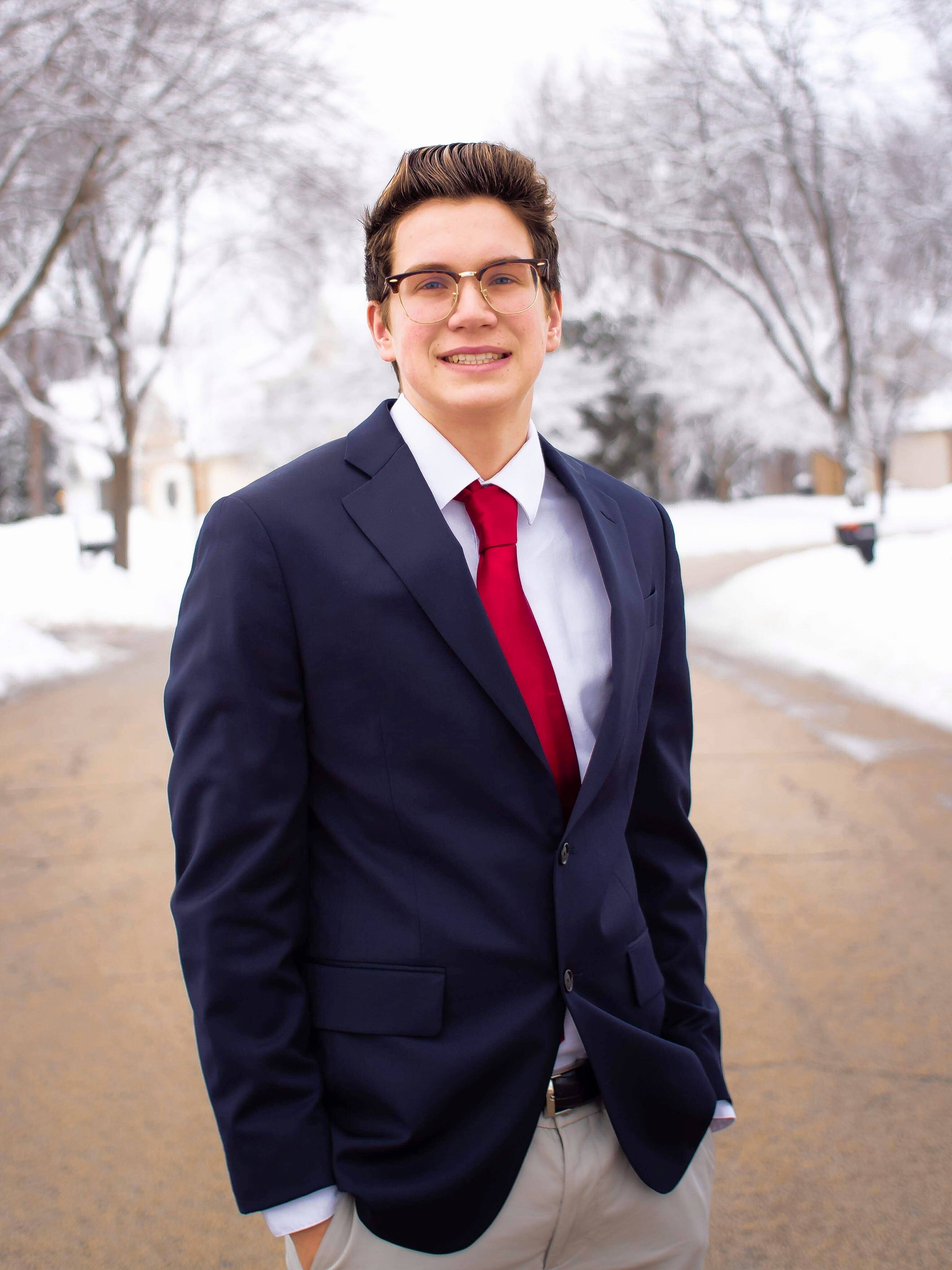 """I would like to see the youth of Gurnee have a voice,"" says Matthew Duray, a candidate for Gurnee village board who will turn 18 two days before the April 2 election."