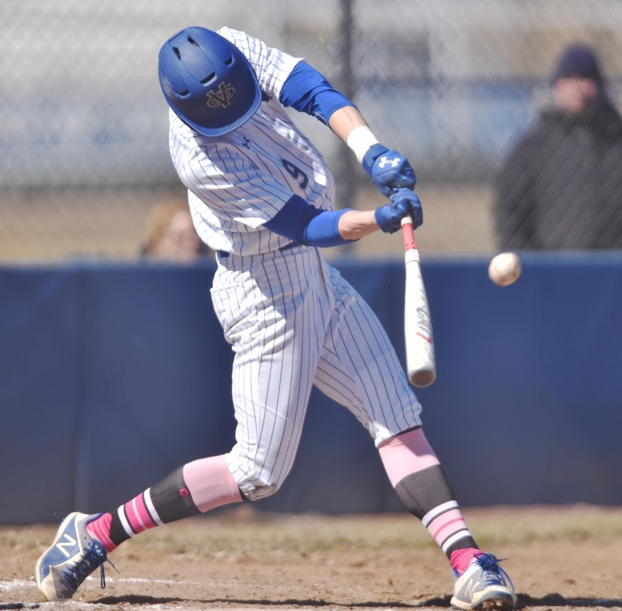 Geneva's Nick Black hits a 2-run double against Prospect Saturday.