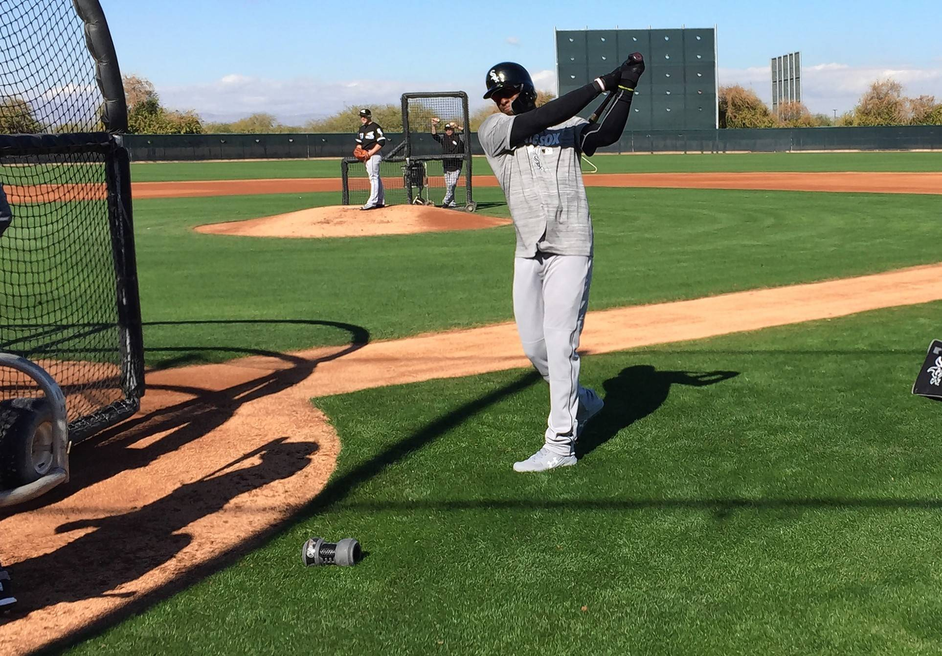 White Sox prospect Luis Robert will report to advanced Class A Winston-Salem when the season begins, but will likely reach Birmingam before long and could see the majors by 2020 if he stays healthy.