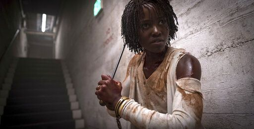 "Lupita Nyong'o stars in ""Us,"" written, produced and directed by Jordan Peele."