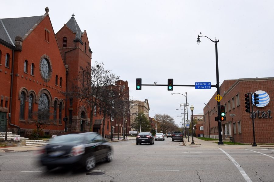 The reconstruction of Chicago Street from Center to Liberty streets is among capital projects budgeted next year.
