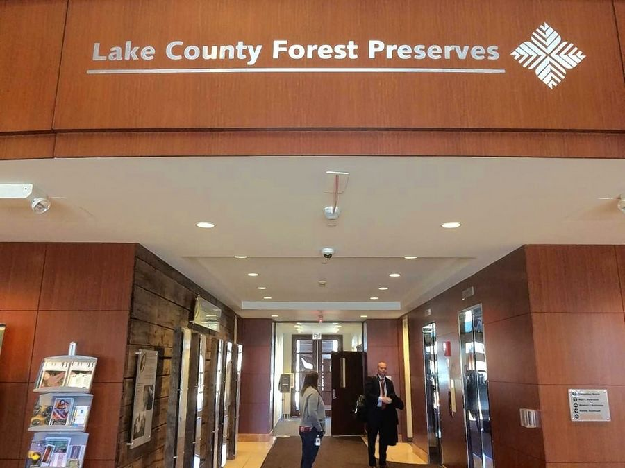 The interior of the Lake County Forest Preserve District office in Libertyville. The forest board may seek authority to remove its president if need be.