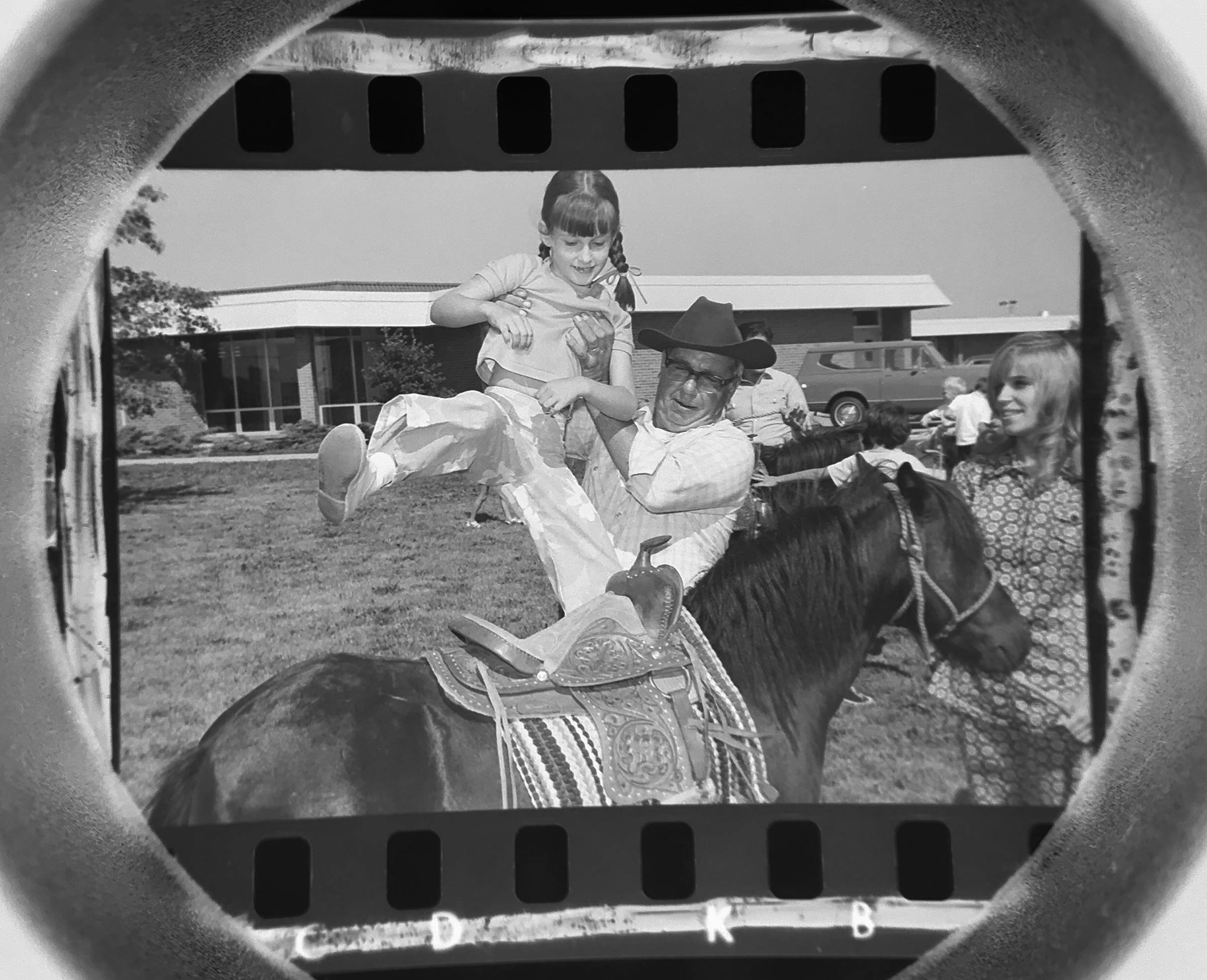 The Daily Herald Archives, Assignment 22,447, Don Vickery photo: Pony rides were a feature of the last week of summer school at Juliette Low school in Arlington Heights in August of 1971.