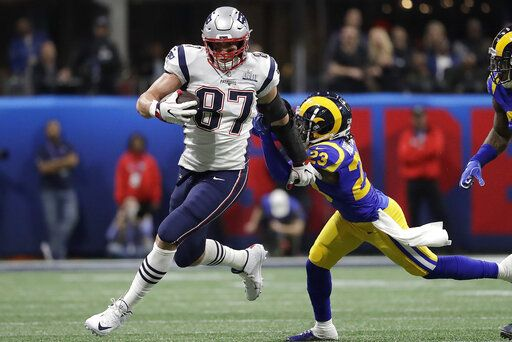 8b41878f Gronk unleashed: Gronkowski sets course for retirement fun