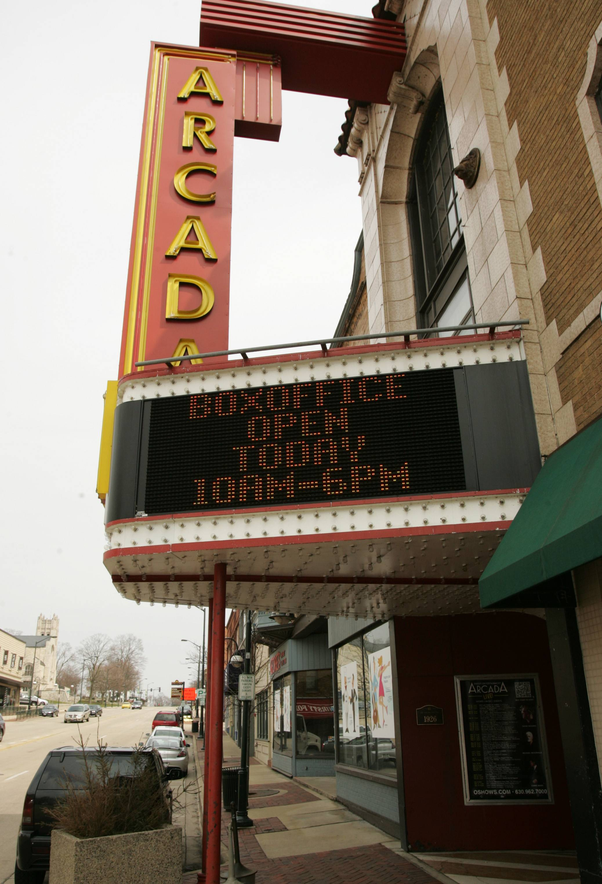 Arcada Theatre expected to remain open during more safety upgrades
