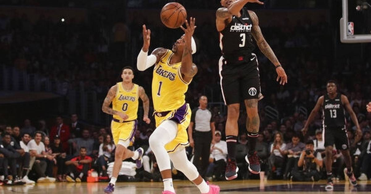 4a2c88d8fdb6 LeBron leads Lakers past Wiz 124-106 for back-to-back wins