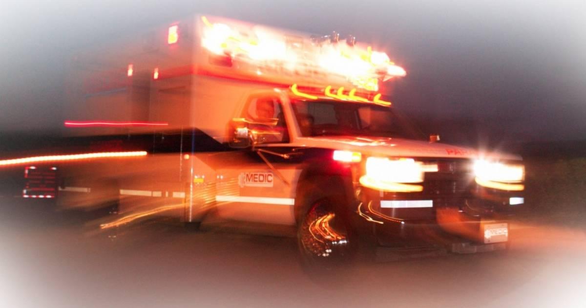 Two hospitalized after high-damage crash near Chumash