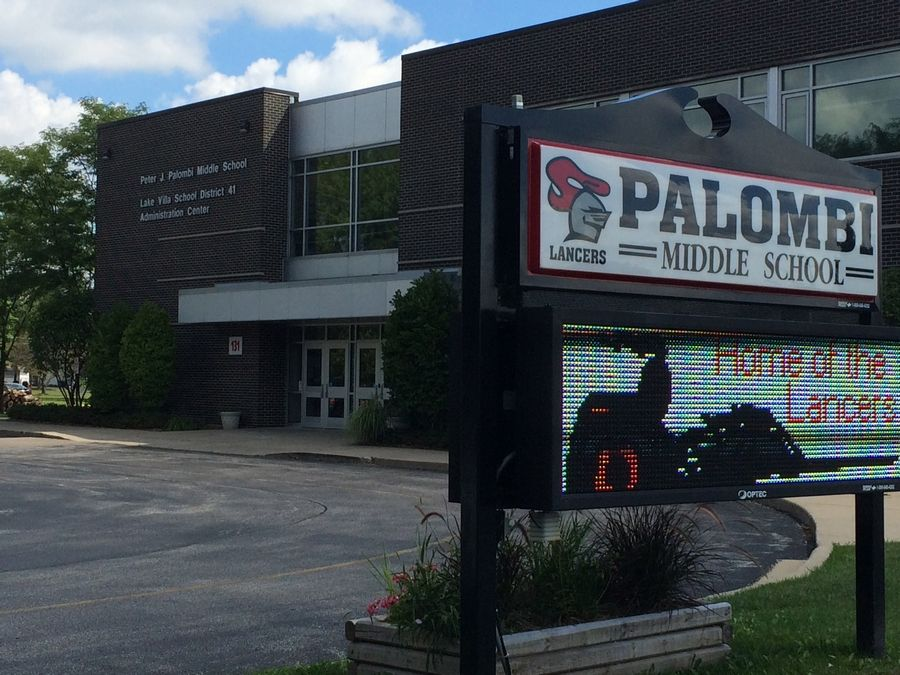 A $50 million proposal calls for building improvements at Palombi Middle School and the other Lake Villa District 41 campuses.