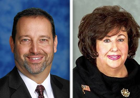 Mike Terson and Beverly Sussman are candidates for Buffalo Grove village president.