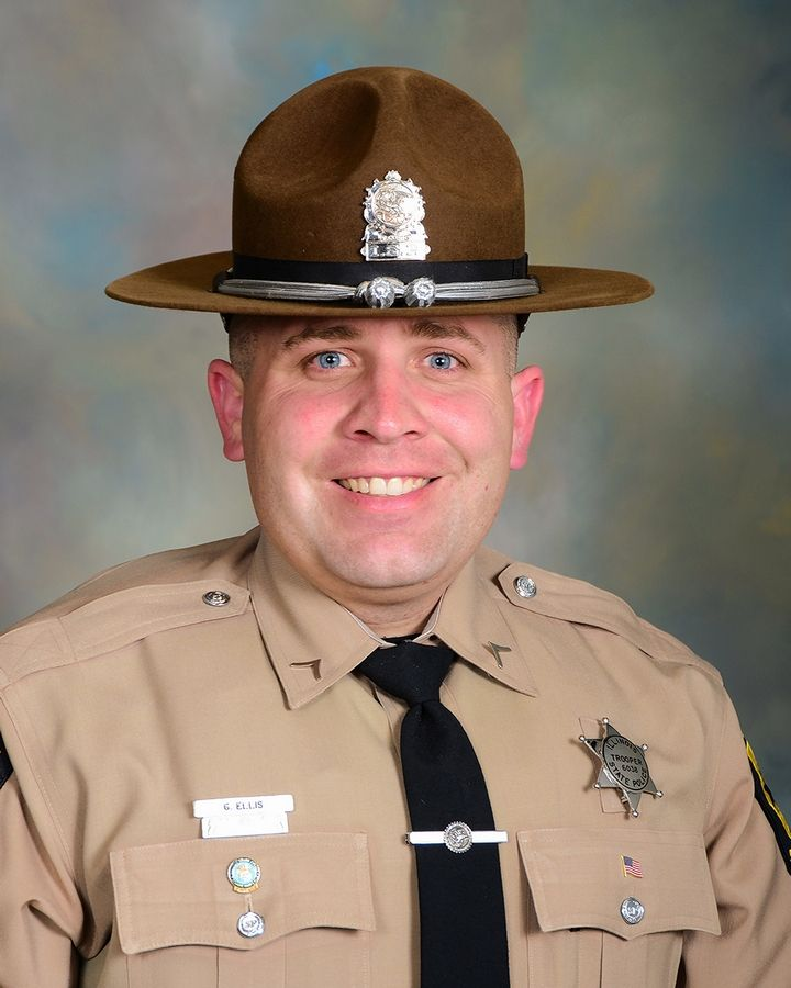 Illinois State Police trooper Gerald Ellis was killed Saturday by a wrong-way driver on the Tri-State Tollway near Green Oaks.