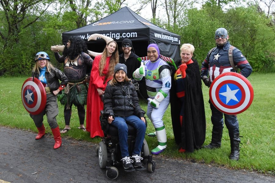 For People With Spinal Cord Injuries >> Community Gathers To Support Local Resident And People With Spinal