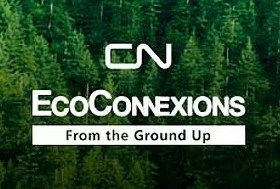 The CN EcoConnexions From the Ground Up program, in collaboration with America in Bloom, supports collaborative community greening projects that enhance landscapes, improve quality of life in communities, and improve environmental stewardship in communities neighboring CN rail lines.
