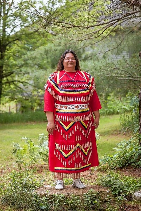 "Kim Sigafus, dressed in her traditional Ojibwa regalia, will offer ""A Peek into the American Indian Way of Life Through Their History and Oral Traditions"" at the next McHenry County Historical Society Sampler Series program on Monday, April 8."
