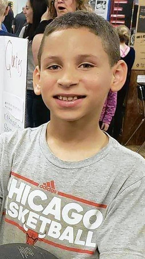 Cameron V. Simmons was a fourth-grader at Black Hawk Elementary School in Glendale Heights.