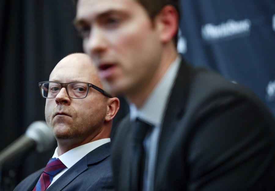 low priced f98d6 63edb Don't expect Chicago Blackhawks GM Bowman to be going anywhere