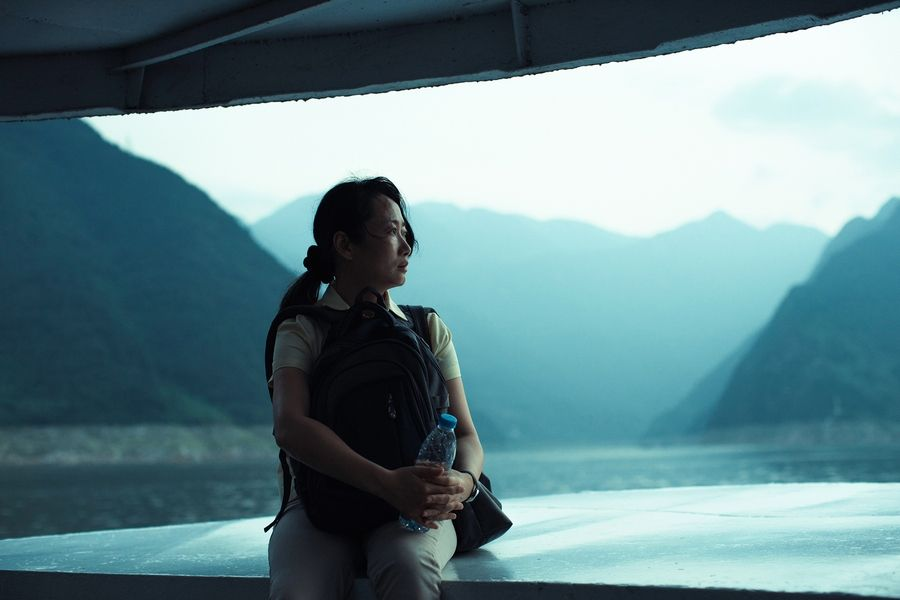 "Loyal Qiao (Zhao Tao) chooses a more compassionate path than revenge in ""Ash Is Purest White."""