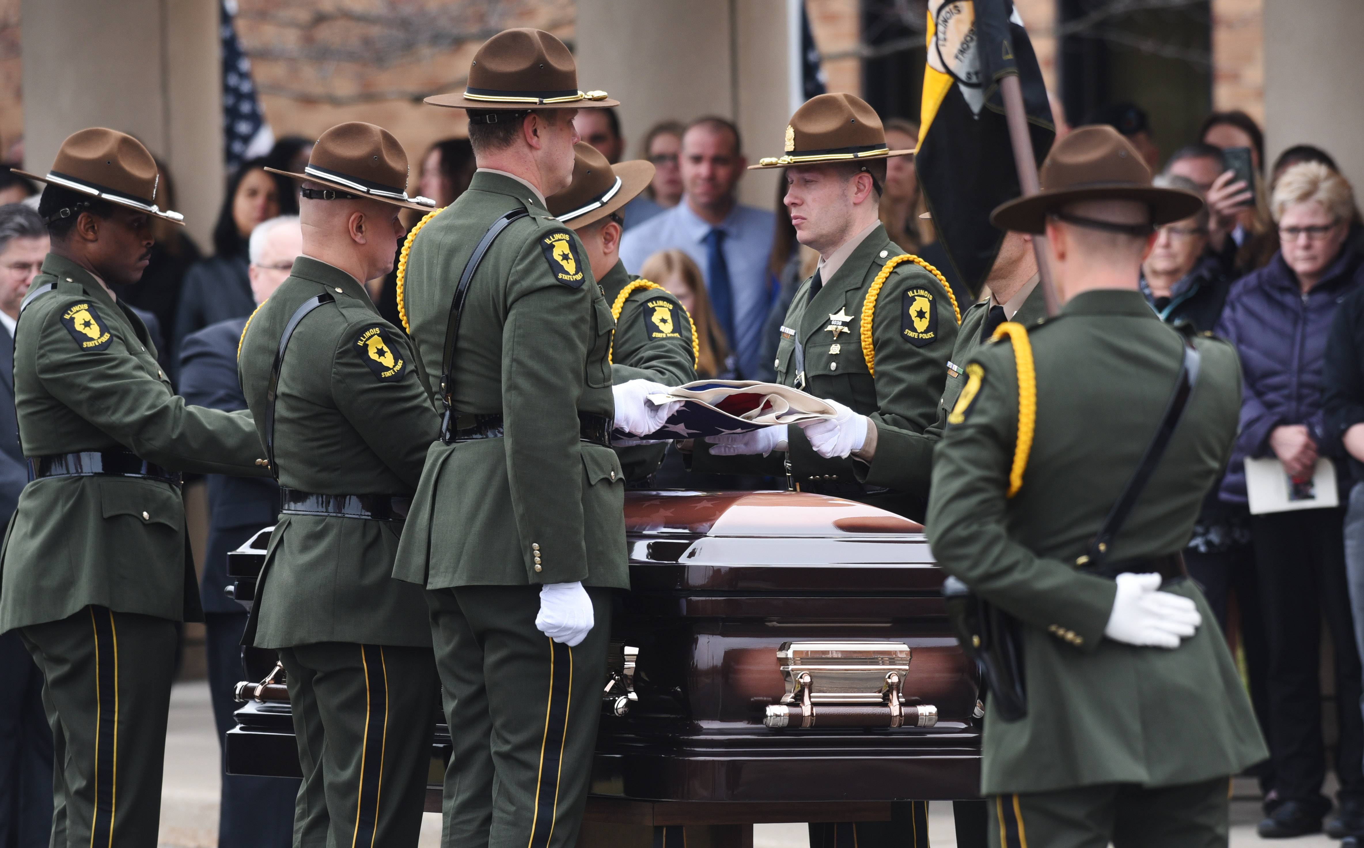 'Among the better angels': State trooper Gerald Ellis remembered for his humor, dedication