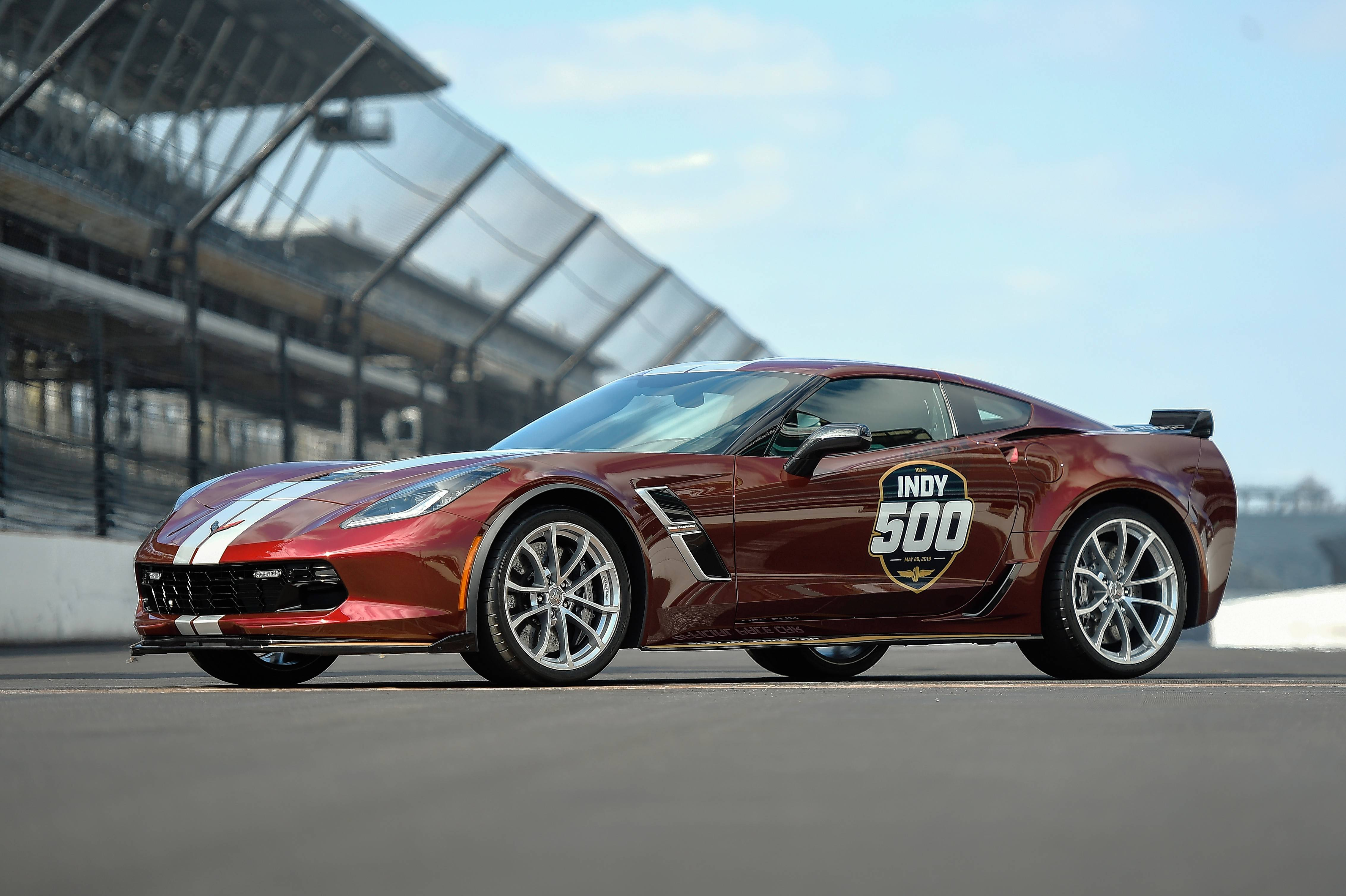 The 2019 Corvette Grand Sport will serve as the official pace car for the 103rd running of the Indianapolis 500 on May 26.