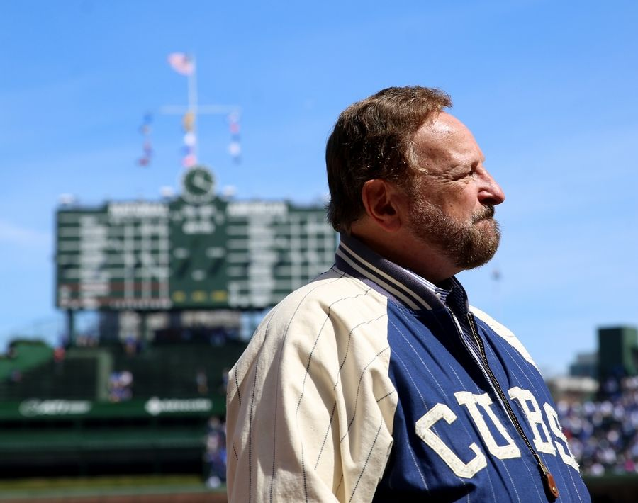 Twenty-five years after he was shot in the throat, an emotional Wayne Messmer prepares to sing the national anthem Monday at Wrigley Field for the Chicago Cubs home opener.