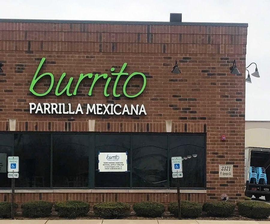 Burrito Parrilla Mexicana will open in the former Fradillio's location on Route 62, just off Randall Road in Algonquin.