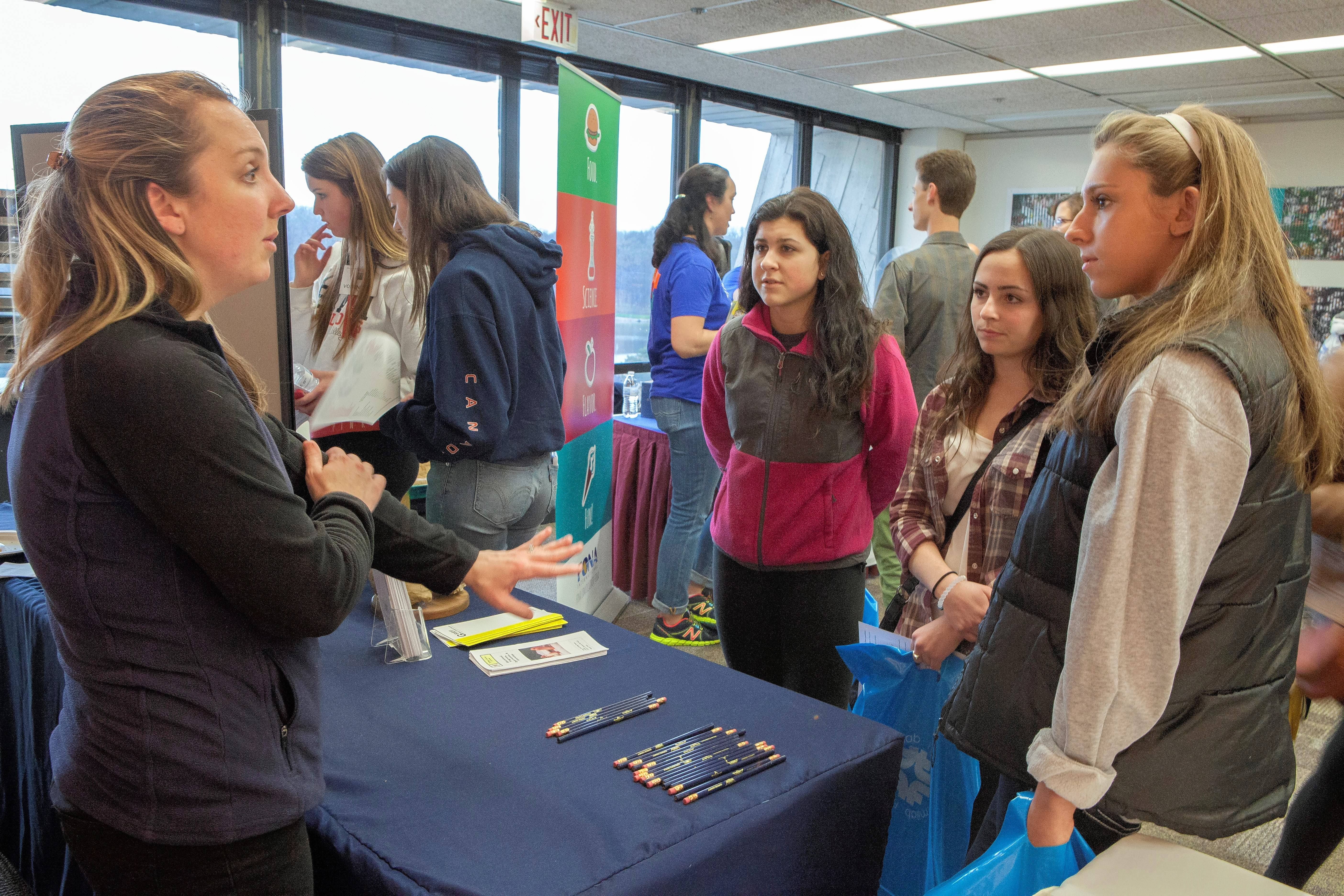 High school students can get real-world advice at Fermilab's annual STEM Career Expo on Wednesday, April 27.