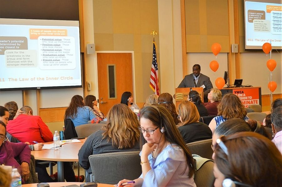A workshop session at YWCA Lake County's Second Annual Economic Empowerment Summit.