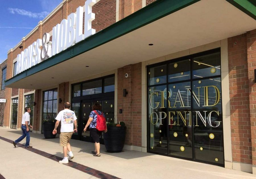 A prototype Barnes & Noble store opened last fall at Mellody Farm in Vernon Hills. Consultant John Melaniphy says the village should remain a top retail destination going forward despite a changing market.