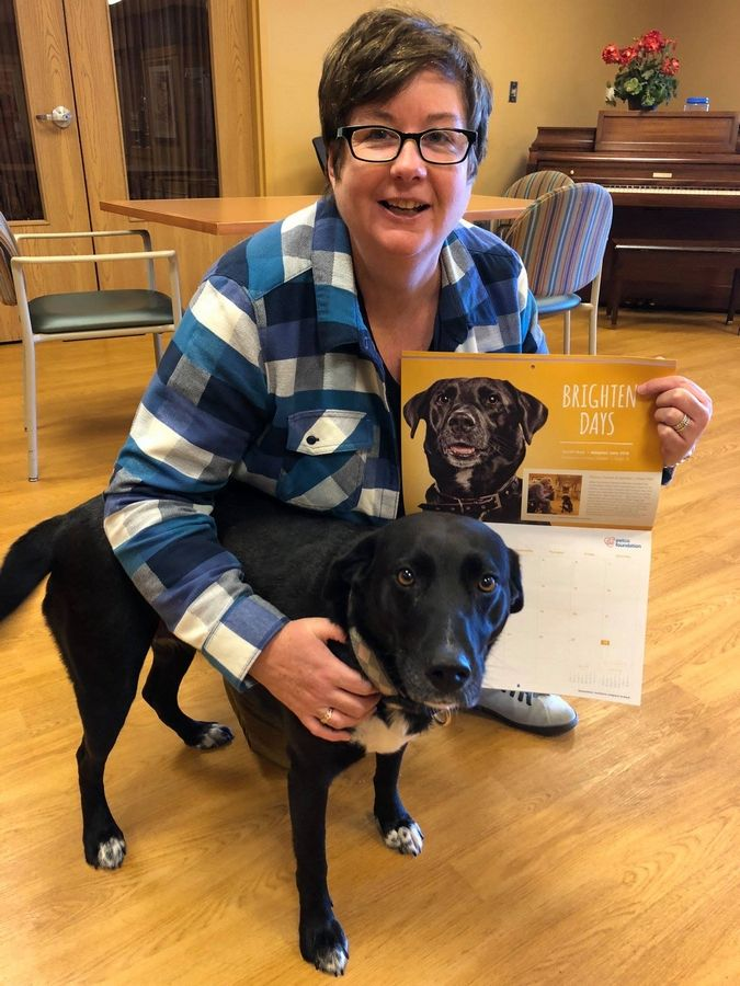 Daisy the dog is the resident community dog at Victory Centre of Bartlett, where she celebrated National Pet Day on April 11. Pathway to Living